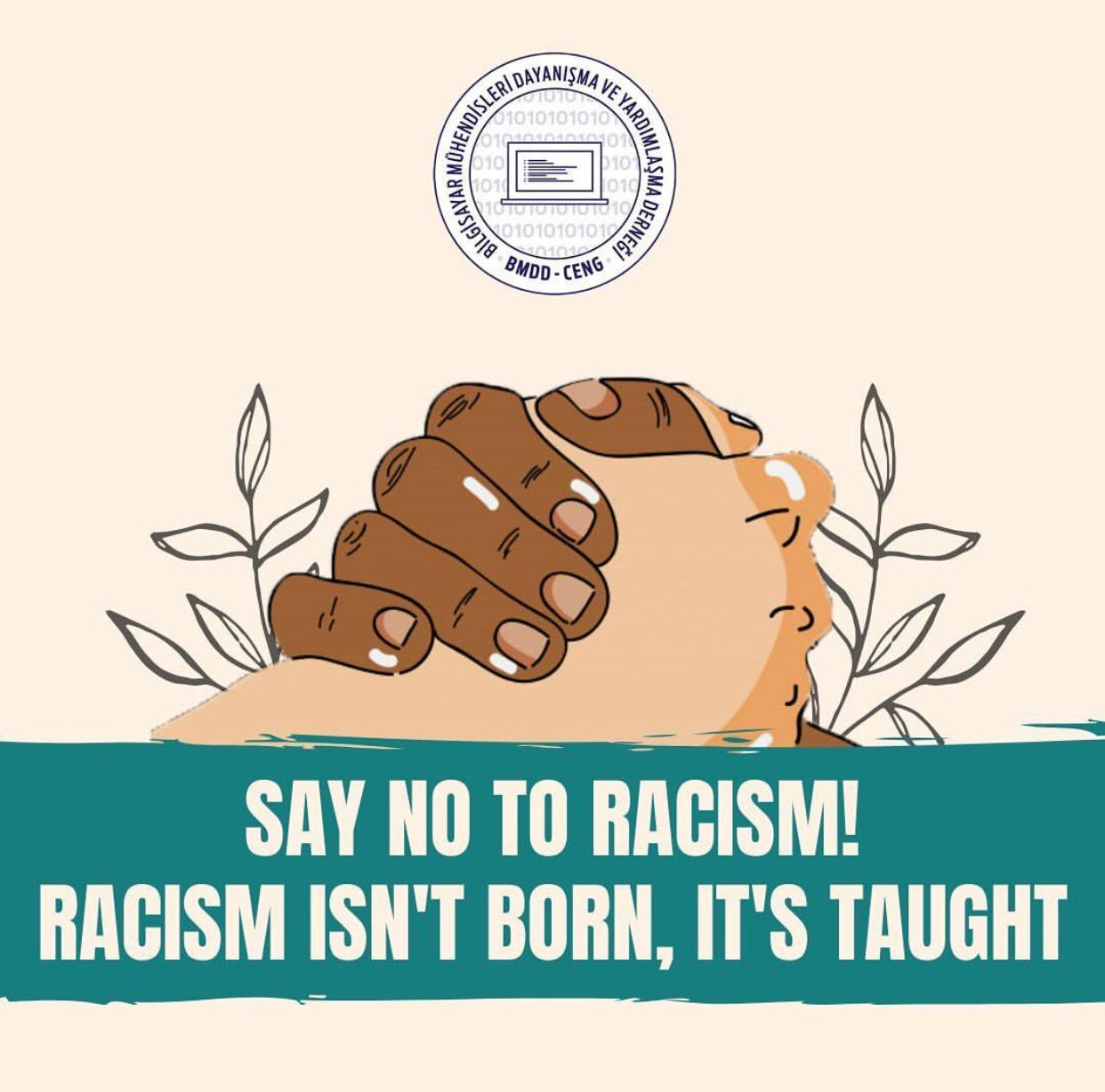 Say No to Racism!